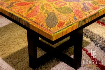 Abstract I Colored-Pencil Coffee Table 1