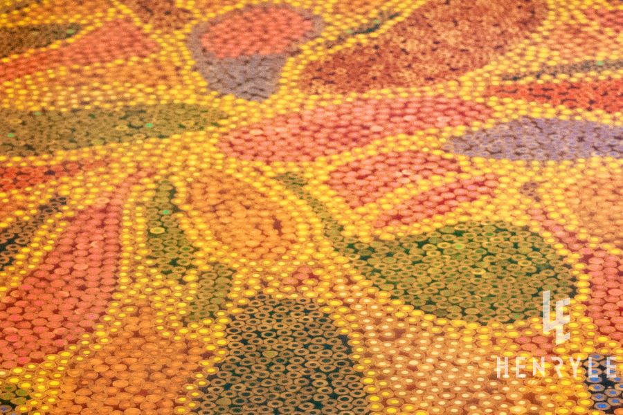 Abstract I Colored-Pencil Coffee Table 2
