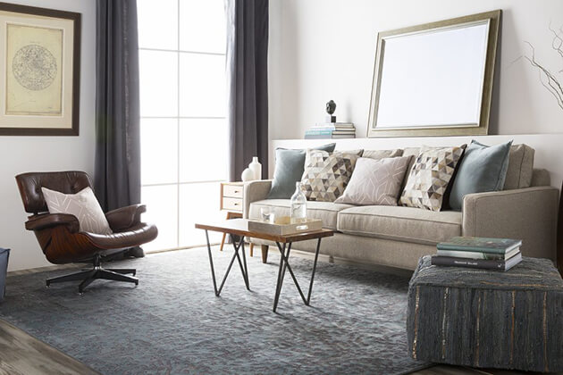 Choose a sofa style that complements your home