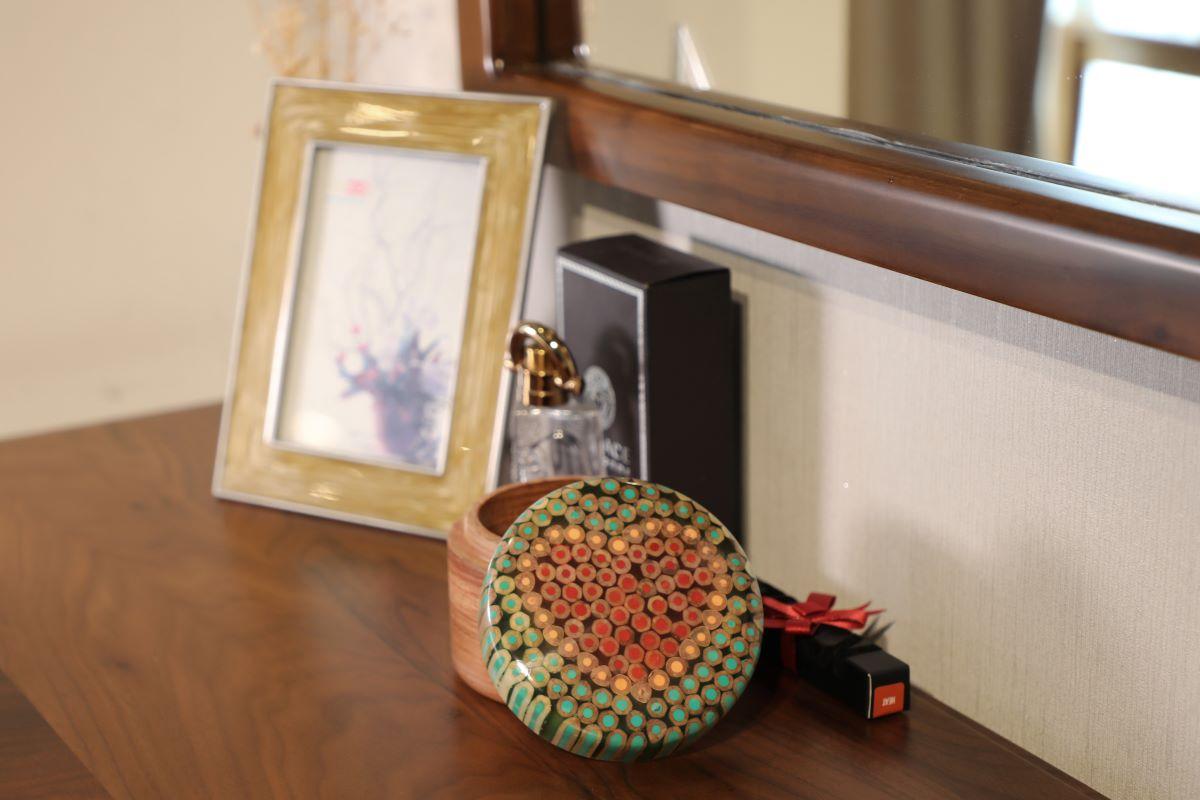 Colored-pencil Heart Jewelry Box