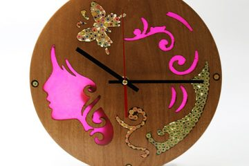 Unique Decorative Wood Wall Clocks