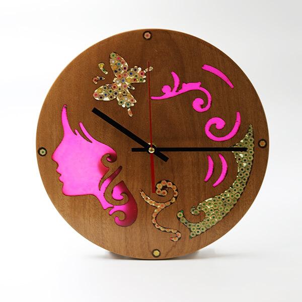 Unique Decorative Wood Wall Clocks