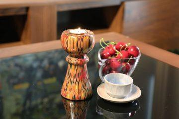 Decorative Colored-pencil Princess Candle Holder