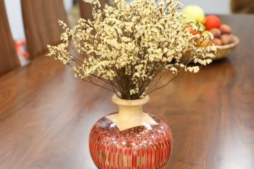 Decorative Colored Pencil Summer Wind Vase 6