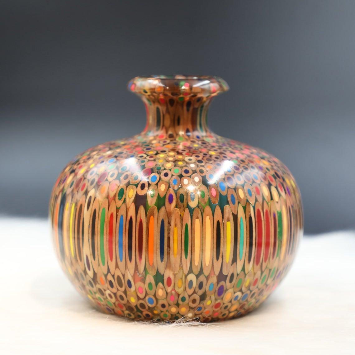 Decorative Colored-pencil Summer Wind Vase Special Edition