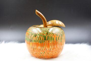 Decorative Colored-pencil Apple Box 1