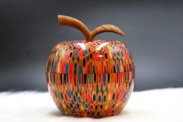 Decorative Colored-pencil Apple Box 5