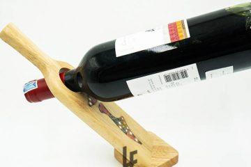Decorative Lady Self Balance Wine - Shape Colored Pencil Bottle Holder 1