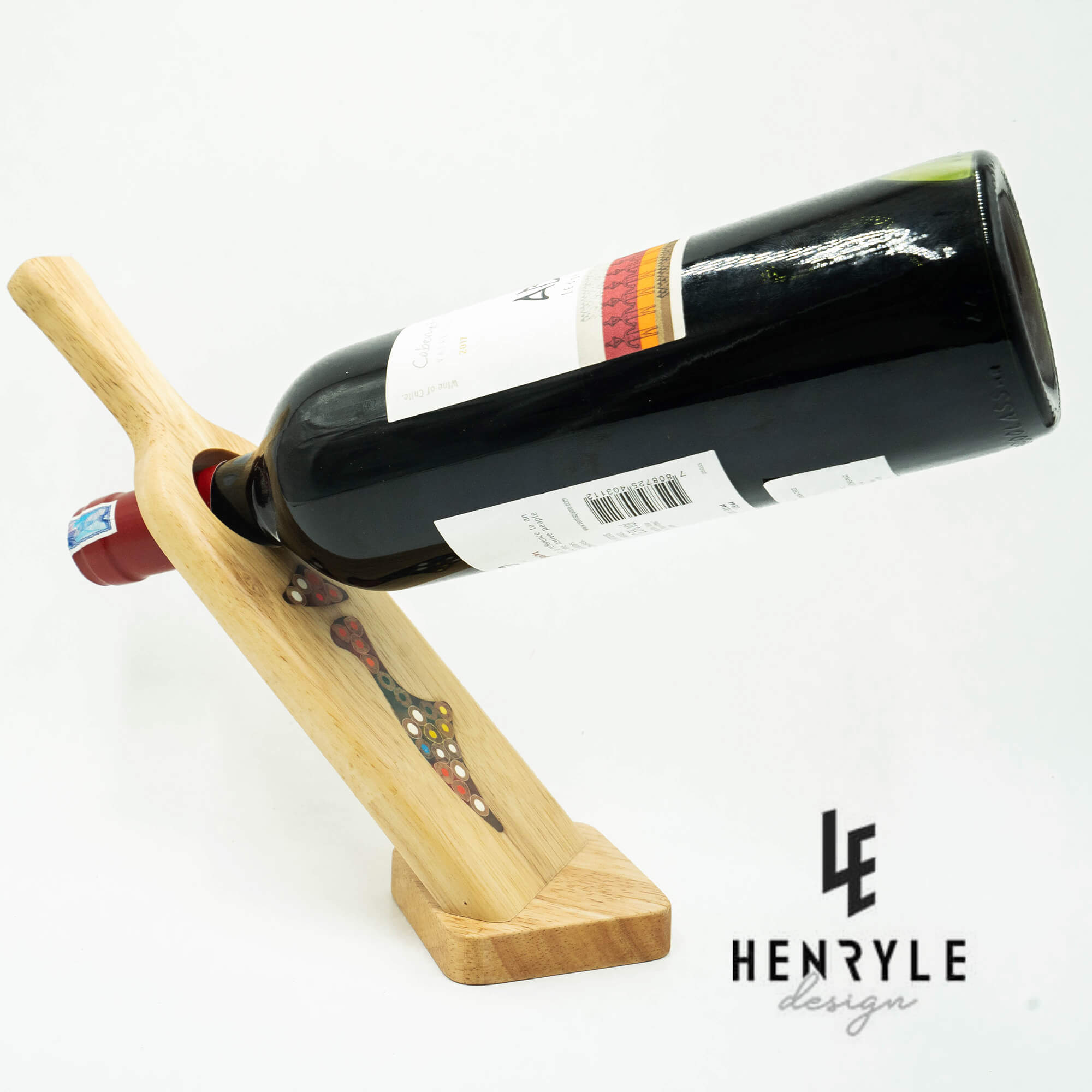 Decorative Lady Self Balance Wine - Shape Colored Pencil Bottle Holder