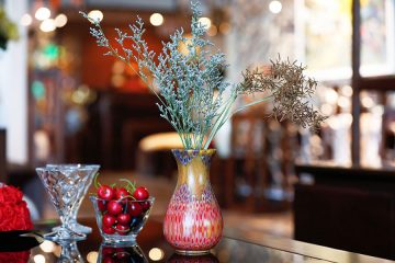 Decorative Peacock Vase