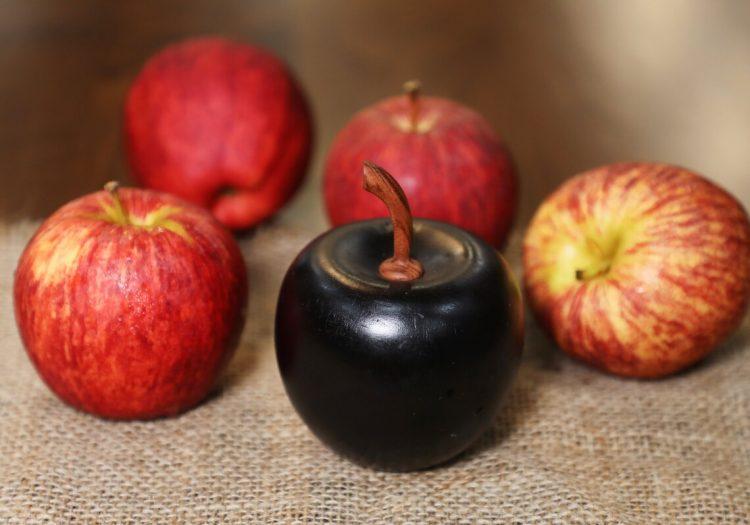 Decorative Wooden Apple