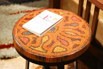Devotion Colored-Pencil Coffee Table