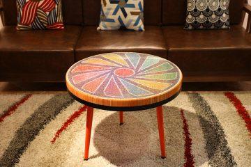 Diamond Colored-pencil Coffee Table 1