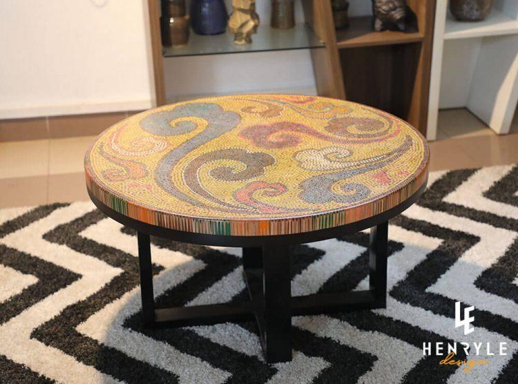 Elysium Colored-Pencil Coffee Table II 1