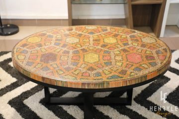 Endless Bound Colored Coffee Table 7