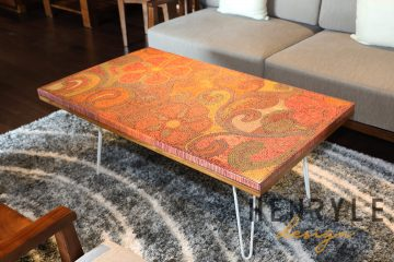 Garden of Eden Colored-Pencil Coffee Table