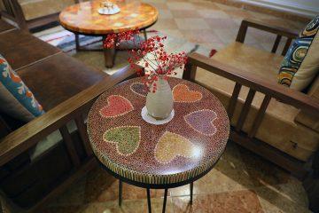 Heart II Colored-pencil Coffee Table 1