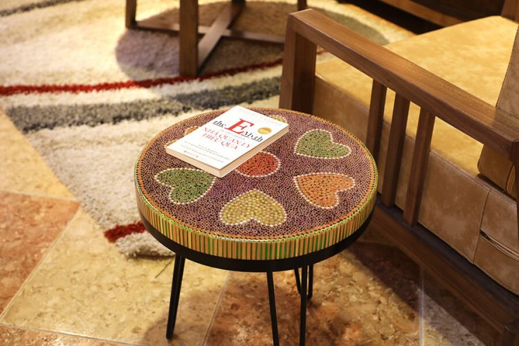 Heart IV Colored-pencil Coffee Tables 2
