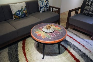 Lotus Colored-pencils Coffee Table 2