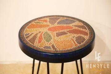 Lotus Pond Colored-Pencil Coffee Table V 2