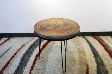Lotus The Great Colored-pencil Coffee Table 1