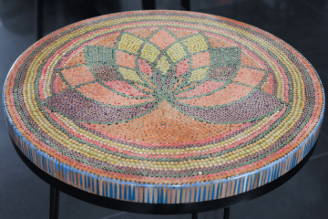 Lotus The Great Colored-pencil Coffee Table