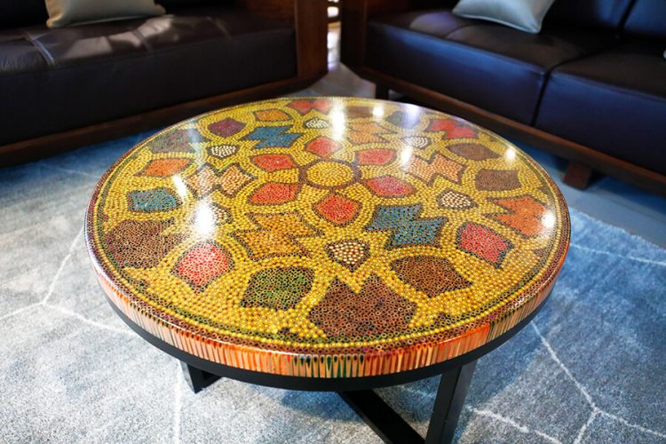 Prosperity Colored Pencil Coffee Table 2