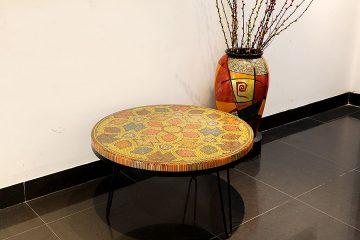 Prosperity Colored Pencil Coffee Table