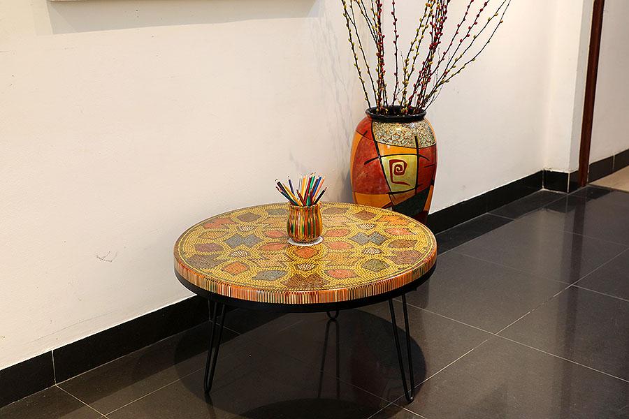 Prosperity Colored Pencil Coffee Table 1