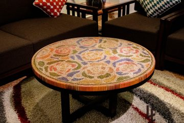 Rose Garden Colored Pencil Coffee Table 6