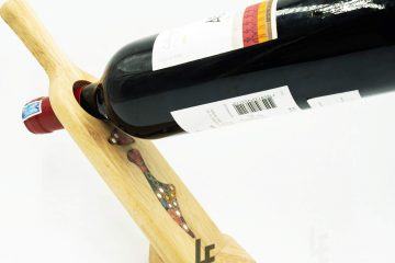 Self Balance Wine - Shape Colored Pencil Bottle Holder