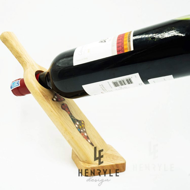 Self Balance Wine - Shape Colored Pencil Bottle Holder
