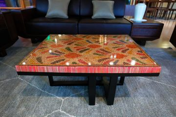 Spring Buds Colored Pencil Coffee Table III 2