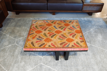 Spring Buds Colored Pencil Coffee Table III