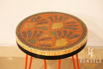 Spring Buds Colored Pencil Coffee Table IV 2