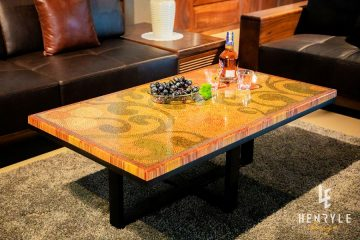 Spring Day Colored-Pencil Coffee Table 3