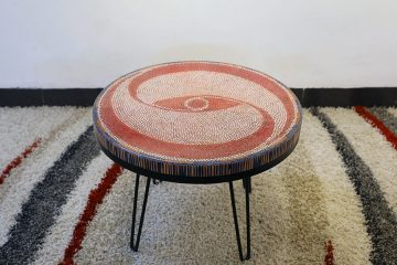 The Vision Colored-pencil Coffee Table