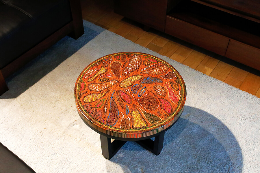 Twilight Colored-Pencil Coffee Table 2