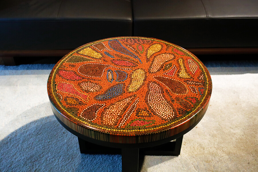 Twilight Colored-Pencil Coffee Table 4