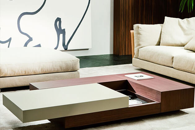 Unusual coffee tables with storage