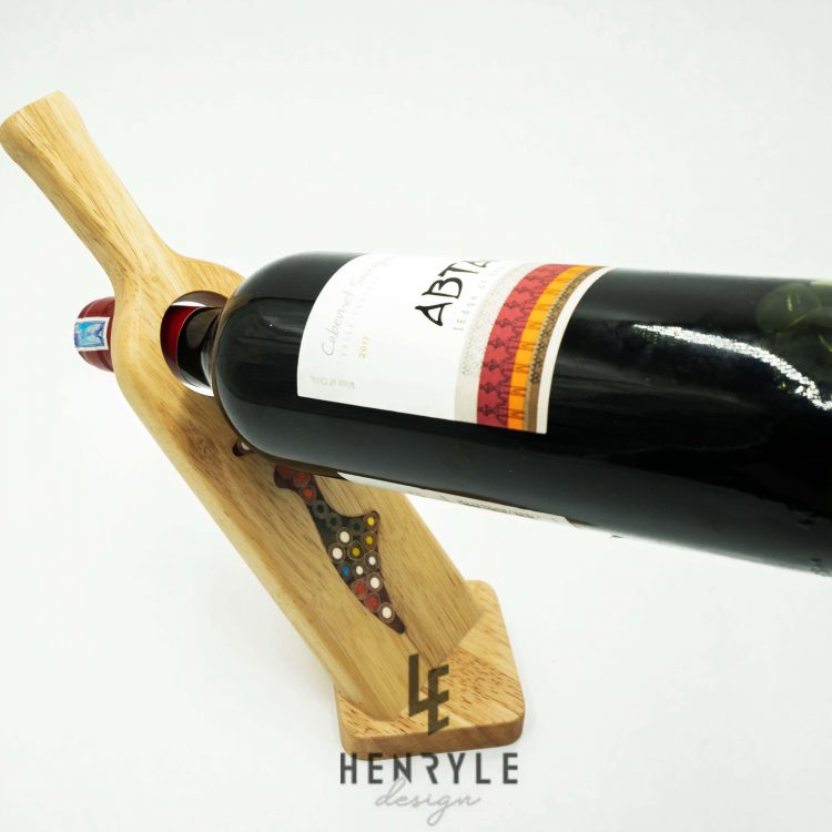 Wine - Shape Colored Pencil Bottle Holder