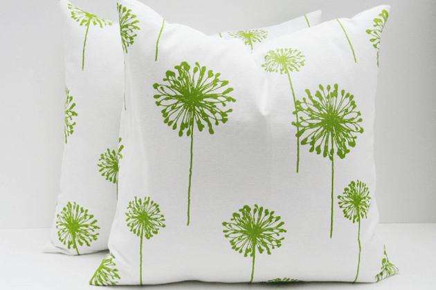 Wood Element Color Pillows